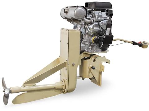 Beavertail 40 HP EFI Surface Drive Gas Powered Mud Motor