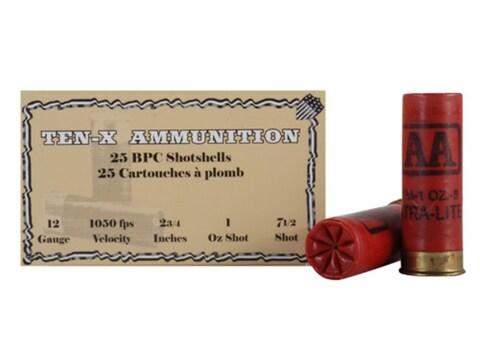 Ten-X Cowboy Ammunition 12 Gauge 2-3/4