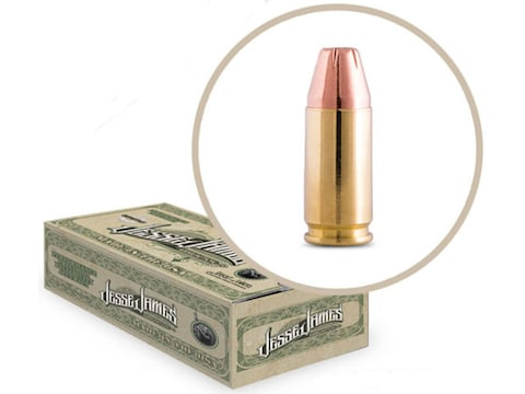 Jesse James TML Ammunition 9mm Luger 124 Grain Jacketed Hollow Point