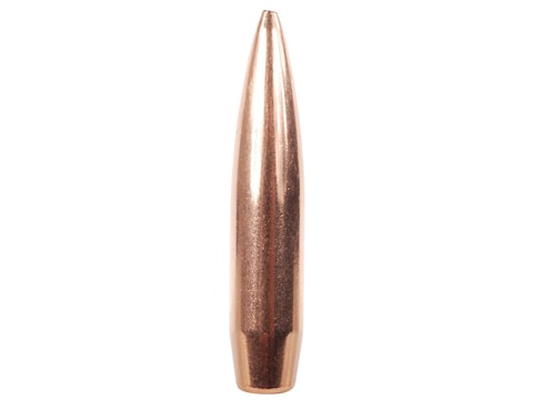 Hornady Match Bullets 338 Caliber (338 Diameter) 285 Grain Hollow Point  Boat Tail Box of 50