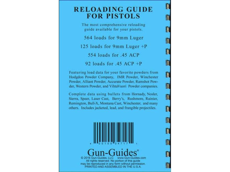 Gun Guides Reloading Guide