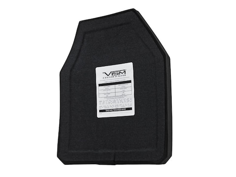 Vism Body Armor Stand Alone Ballistic Plate Level IV Shooters Cut 10