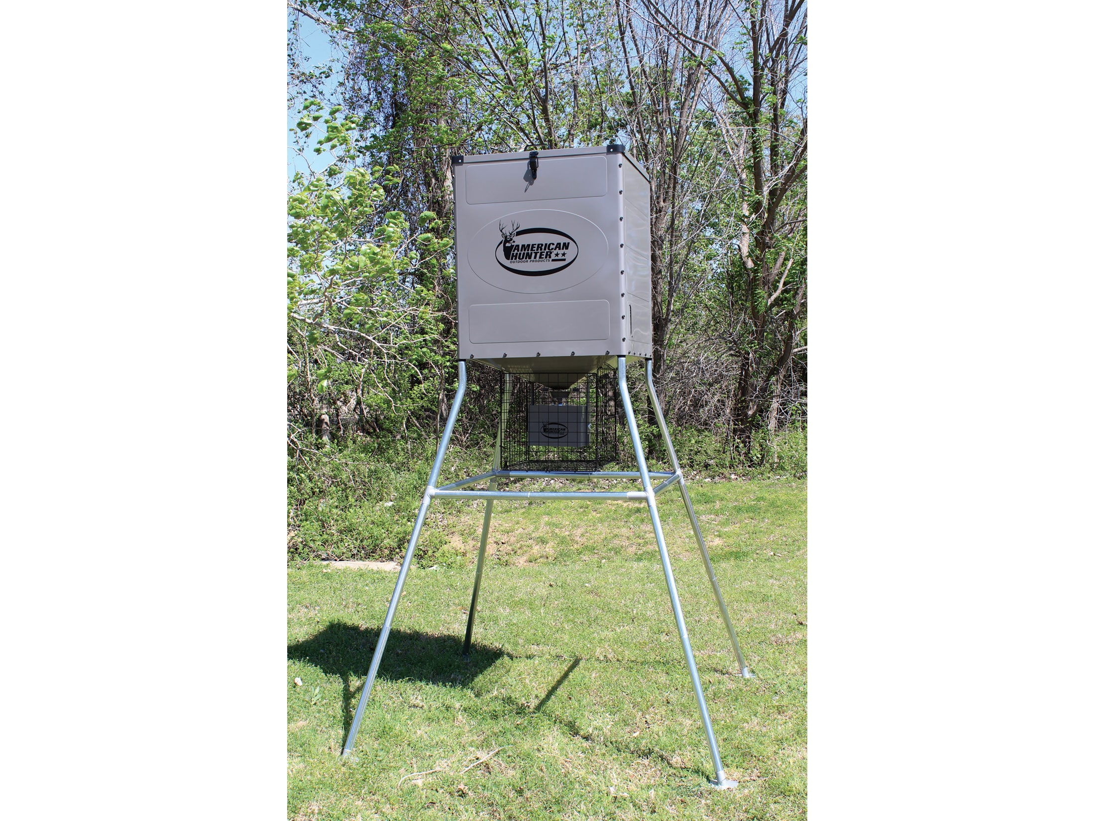 American Hunter 440 lb Game Feeder with Digital Timer