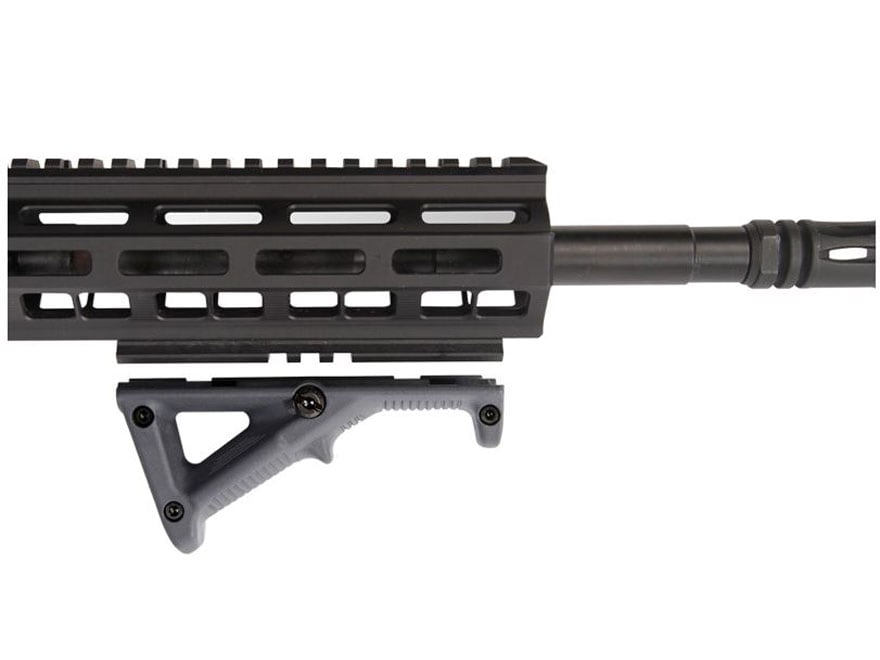 "Magpul MAG594BLK Matte Black Polymer M-LOK AFG-2 4.7/"" Adapter Rail Panel Rifle"