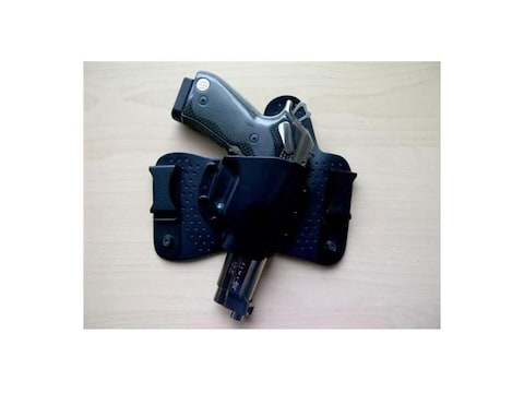Beretta Hybrid Inside the Waistband Holster Right Hand Beretta PX4 Storm  Full Size and Compact 9mm, 40 S&W ABS and Leather