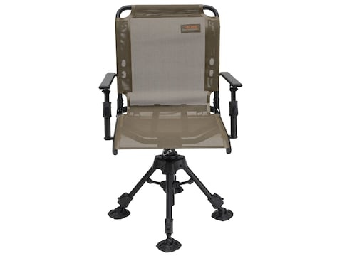 Peachy Alps Outdoorz Stealth Hunter Deluxe 360 Swivel Chair Brown Cjindustries Chair Design For Home Cjindustriesco