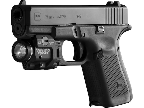 Streamlight TLR-8 Weapon Light White LED with Laser Fits Picatinny or  Glock-Style Rails Aluminum Matte
