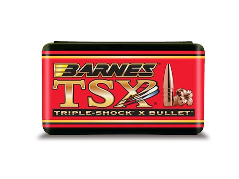 Barnes Triple-Shock X (TSX) Bullets 50 BMG (510 Diameter) 647 Grain Hollow  Point Boat Tail Lead-Free Box of 20