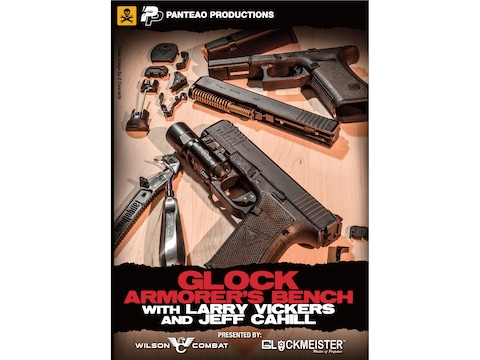 "Panteao ""Glock Armorer's Bench with Larry Vickers and Jeff Cahill"" DVD"