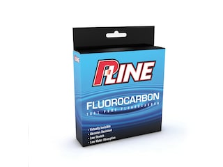 P-Line Soft Fluorocarbon Fishing Line 2lb 250yd Clear