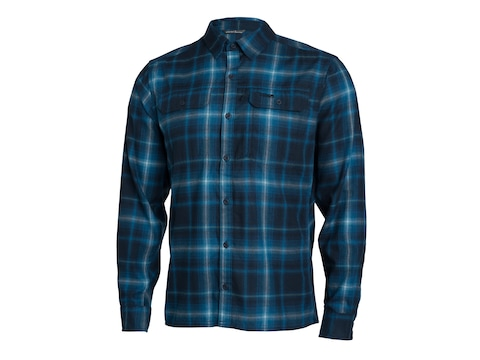 Sitka Gear Men's Frontier Button-Up Long Sleeve Shirt Polyester/Wool