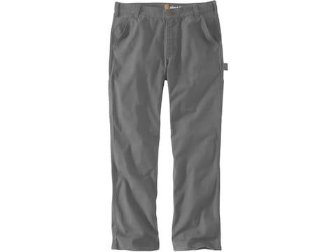 Carhartt Men's Rugged Flex Relaxed Fit Duck Dungaree Pants
