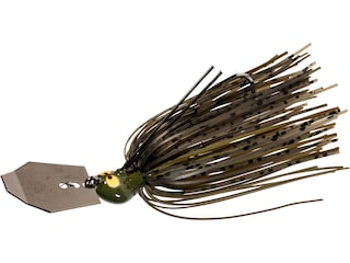 Z-Man Crosseyez Chatterbait Bladed Jig Green Pumpkin 3/8 oz