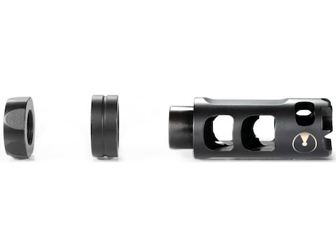 Ultradyne Pulse Compensator Muzzle Brake with Timing Nut 7.62mm Stainless Steel Nitride