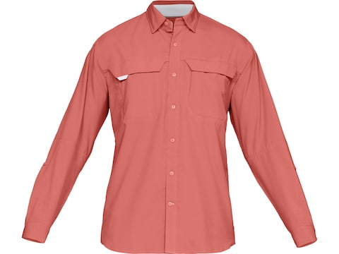 Under Armour Men's UA Tide Chaser Hybrid Button-Up Long Sleeve Shirt Polyester