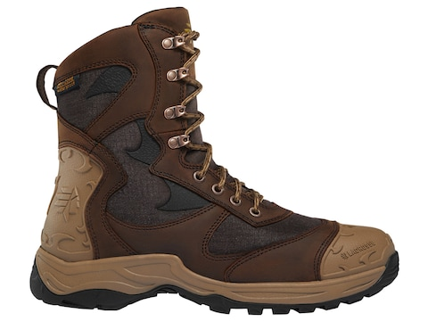 "LaCrosse Atlas 8"" Waterproof Hunting Boots Leather Men's"