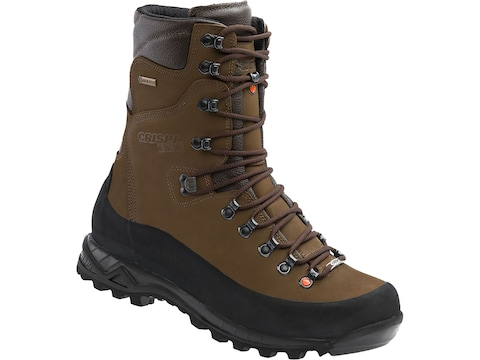 """Crispi Briksdal GTX 9"""" 200 Gram Insulated Hunting Boots Leather Brown Men's"""