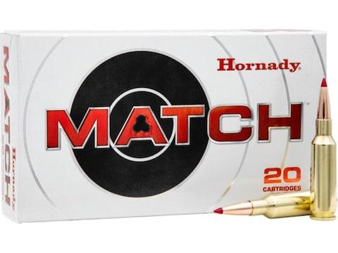 Hornady Match Ammunition 224 Valkyrie 88 Grain ELD Match Box of 20