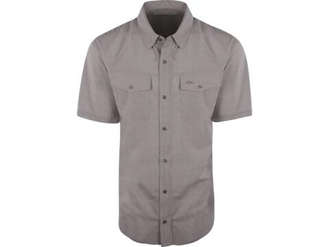 Drake Men's Traveler's Check Short Sleeve Shirt Polyester