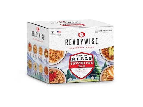 ReadyWise Camping Favorites 72 Hour Freeze Dried Food Kit