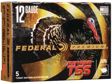 Federal Premium Heavyweight TSS Turkey Ammunition 12 Gauge Non-Toxic Tungsten Super Sho...