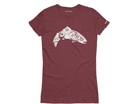 Simms Women's Anderson Floral Trout T-Shirt