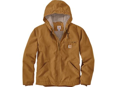 Carhartt Men's Washed Duck Sherpa Lined Jacket