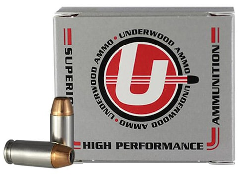 Underwood Ammunition 40 S&W 200 Grain Jacketed Hollow Point Subsonic Box of 20