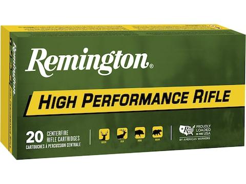 Remington High Performance Rifle Ammunition 220 Swift 50 Grain Pointed Soft Point Box o...