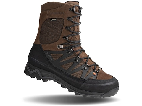 "Crispi Idaho II GTX 10"" Hunting Boots Leather Brown Men's"