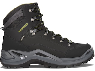 Lowa Renegade GTX Mid Hunting Boots Leather Black/Olive Men's 9 D