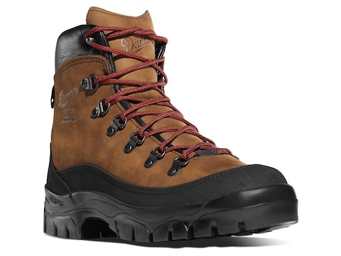 """Danner Crater Rim 6"""" GORE-TEX Hiking Boots Leather Brown Women's"""
