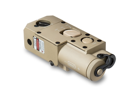 Steiner CQBL-1 Close Quarters Battle Laser Red with Picatinny-Style Mount Tan