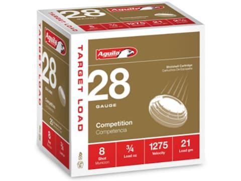"Aguila Ammunition 28 Gauge 2-3/4"" 3/4 oz #8 Shot Box of 25"