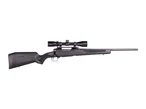 Savage 110 Apex Hunter XP Rifle Synthetic Ergo Black Stock, Vortex Crossfire II 3-9x40m...