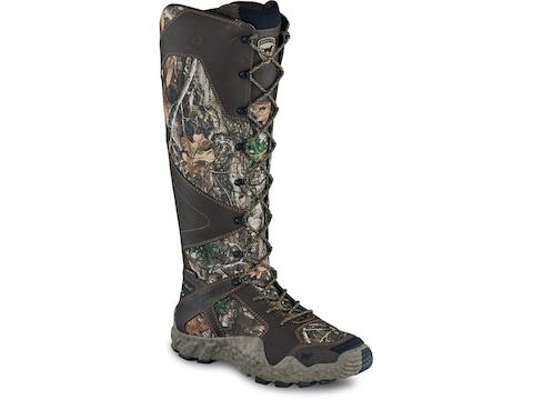 Irish Setter Vaprtrek Side Zip Snake Boots Nylon and Leather Men's