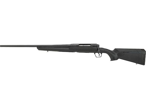 "Savage Axis II Left Hand Rifle 22"" Blue Barrel, 4-Round Synthetic Black Ergo Stock"