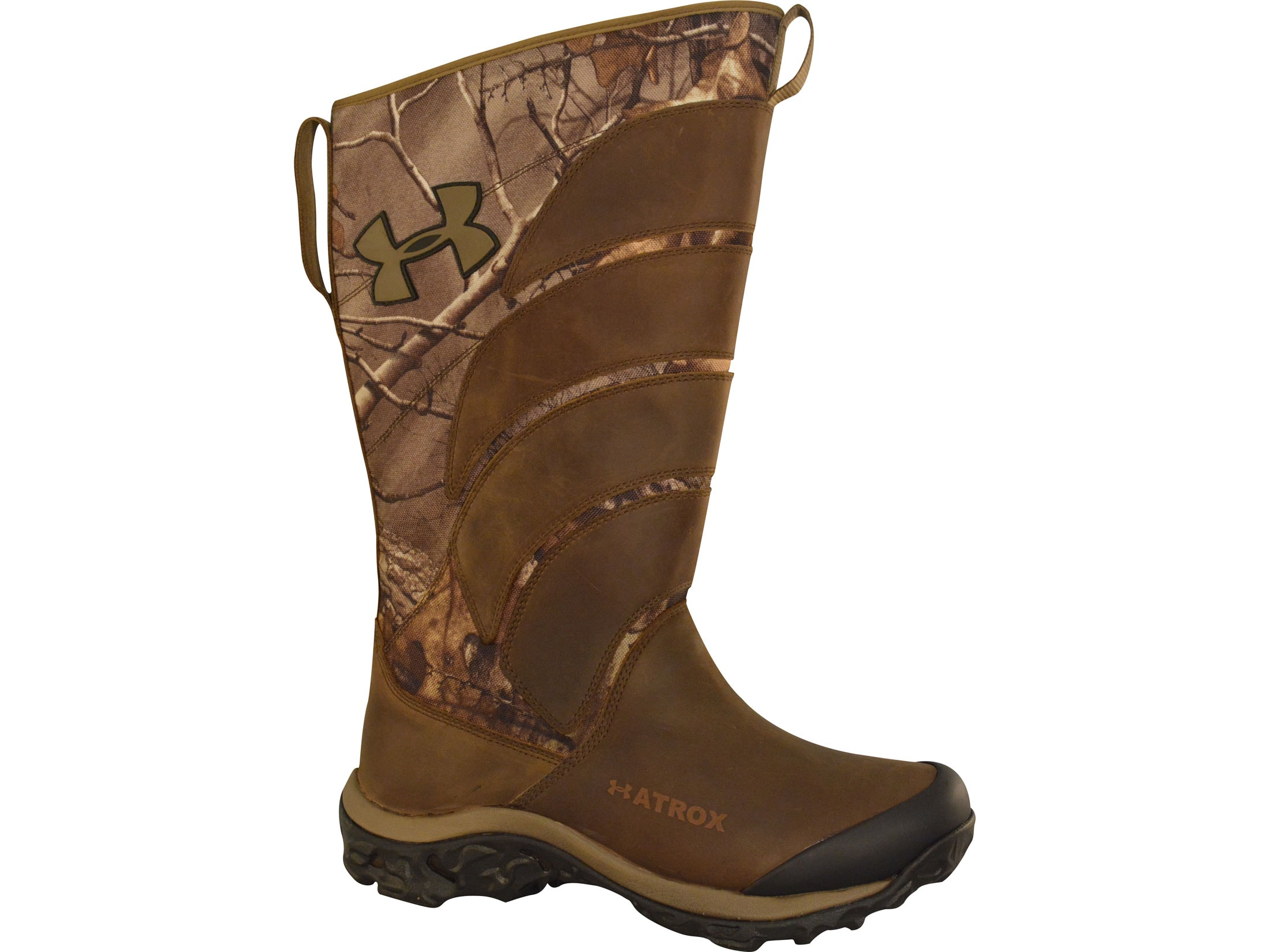 6e2730a2ef8 Under Armour UA Atrox 16 Waterproof Scent Control Snake Boots Leather