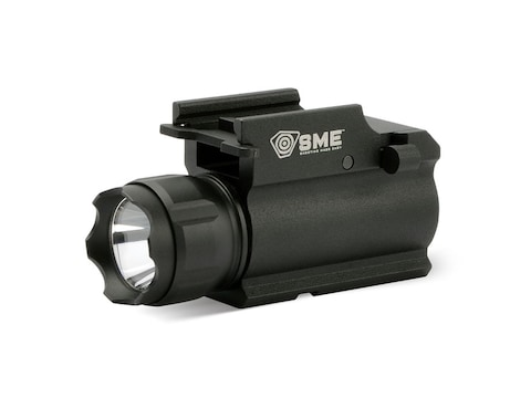 SME Compact Tactical Handgun Weapon Light LED with 1 CR123 Battery Aluminum Black