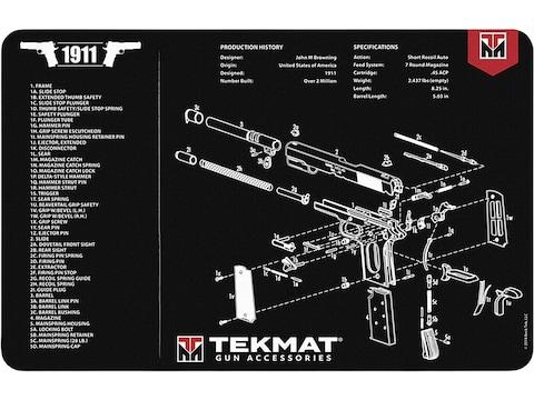 Tekmat Handgun Gun Cleaning Mat