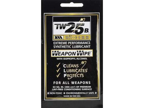 Mil-Comm TW25B Gun Grease Firearm Wipes