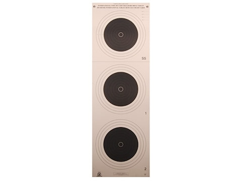 NRA Official Smallbore Rifle Targets A-33 100-Yard Paper Pack of 100