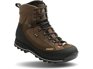 """Crispi Summit GTX 8"""" GORE-TEX Hiking Boots Leather Brown Men's 10.5 D"""