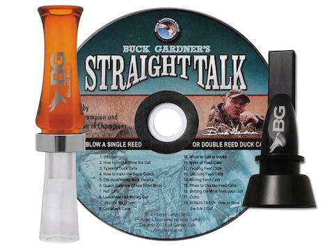 Buck Gardner Mallard Magic Duck Call & 6-in-1 Pintail Whistle Combo