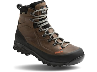 """Crispi Valdres Plus GTX 8"""" GORE-TEX Hunting Boots Leather Brown Men's 8.5 D"""