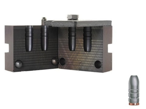 RCBS 2-Cavity Bullet Mold 30-150-FN 30 Caliber (309 Diameter) 150 Grain Flat Nose Gas C...
