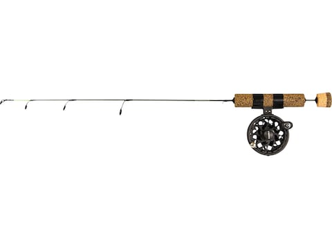 Frabill Ice Hunter Straightline Ice Fishing Rod Combo