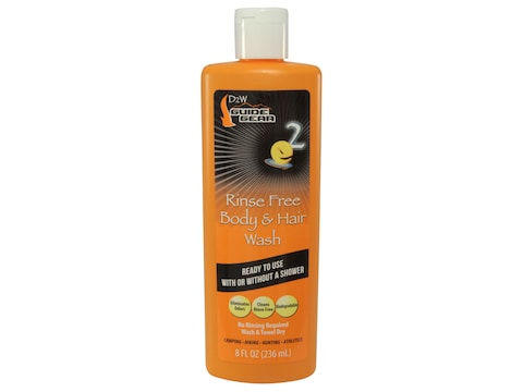 Dead Down Wind Scent Elimination Rinse Free Body and Hair Wash 8 oz