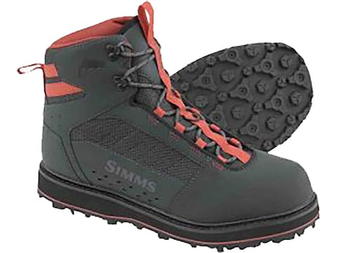 Simms Tributary Wading Boots Rubber Outsole Men's