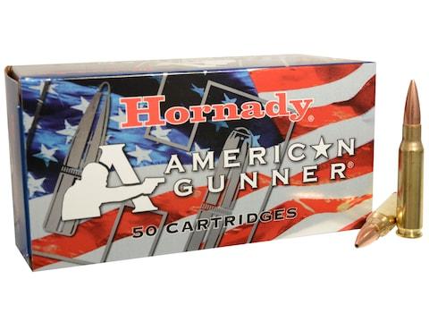 Hornady American Gunner Ammunition 308 Winchester 155 Grain Hollow Point Boat Tail Box ...